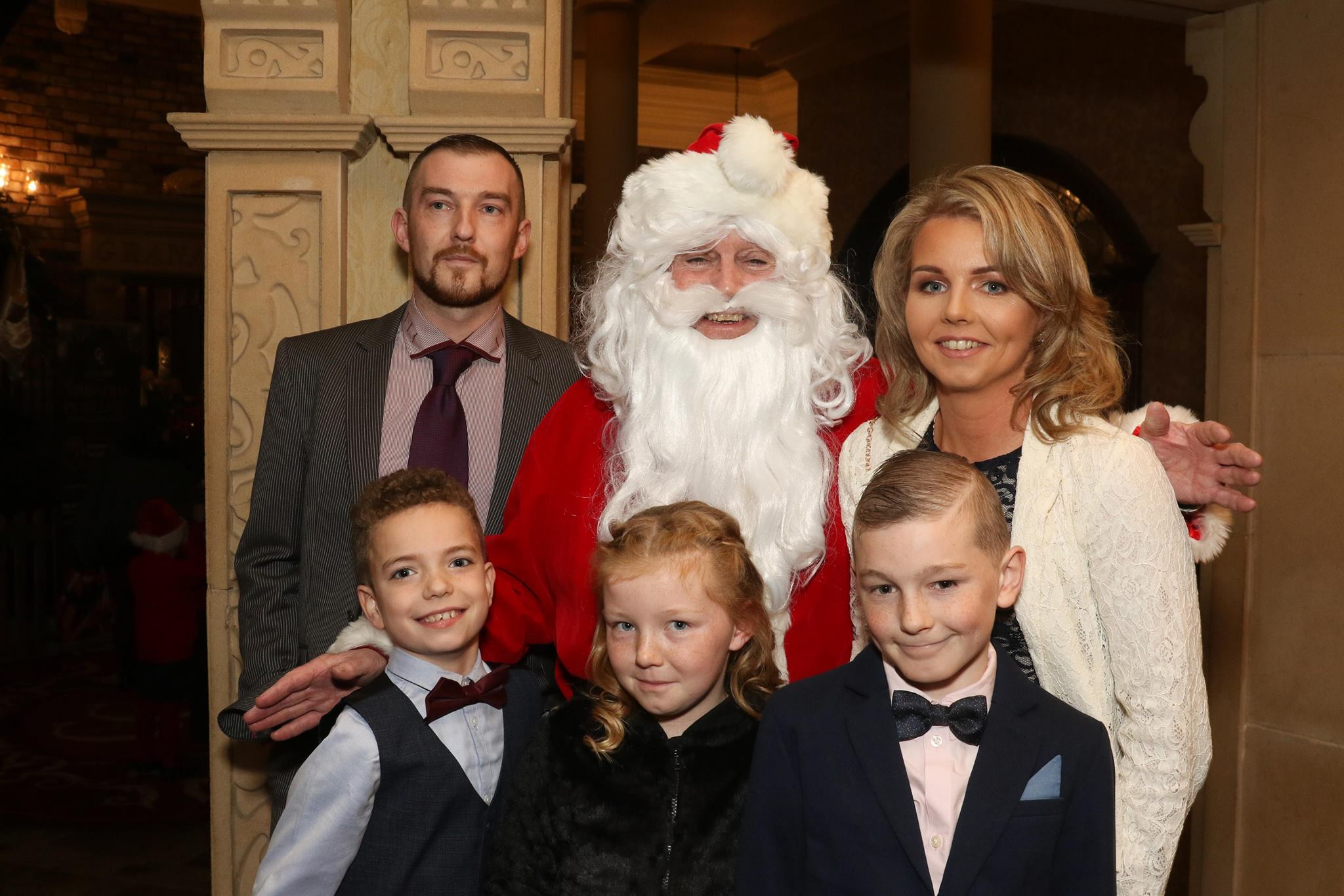 newry christmas charity dinner santa