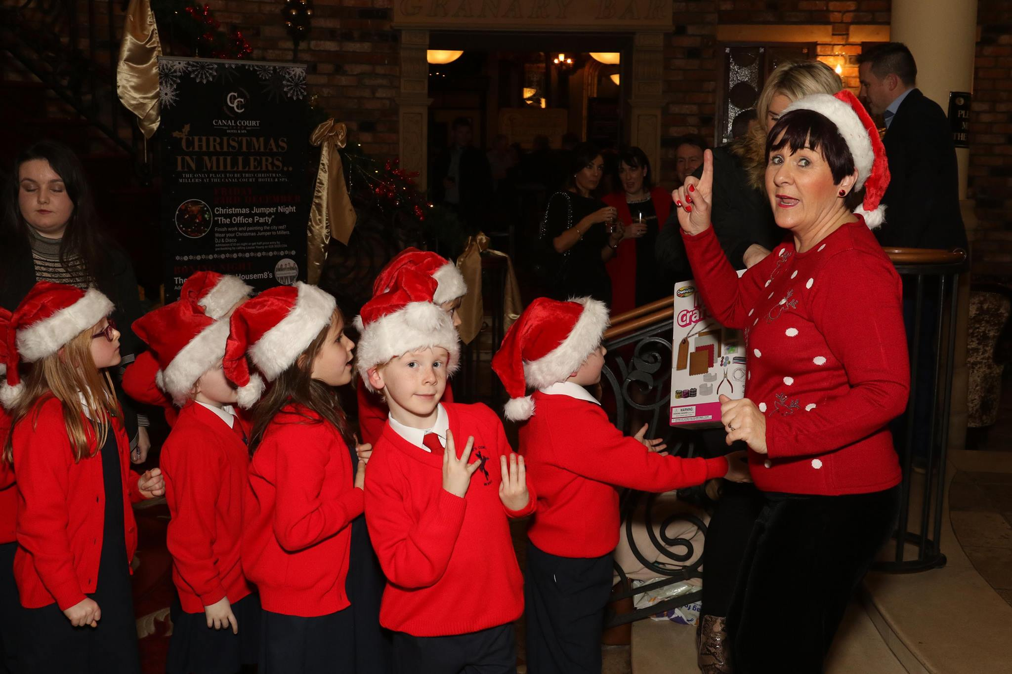 newry christmas charity dinner school